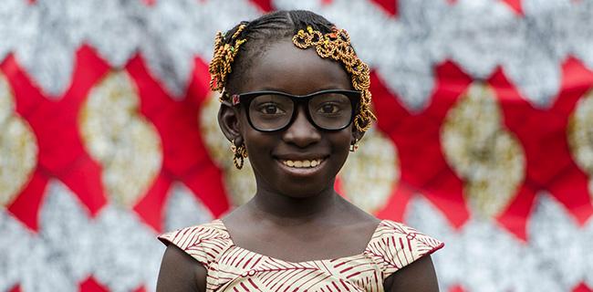 black child guinea